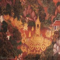 罗摩衍那壁画百图【绝版】(1)Ramayana.mural.paintings
