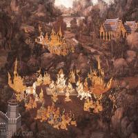 罗摩衍那壁画百图绝版(2)Ramayana.mural.paintings