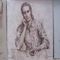 俄罗斯列宾美术学院撒卡洛夫绘画作品全集(1)