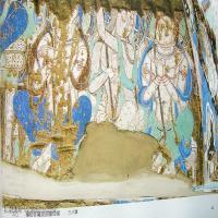 中国新疆佛画壁画全集克孜尔新疆龟兹佛画壁画全集(1)