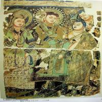中国新疆佛画壁画全集克孜尔新疆龟兹佛画壁画全集(4)