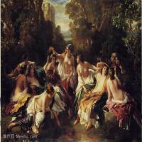 宫廷油画作品汇总(4)