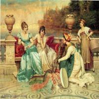 宫廷油画作品汇总(7)