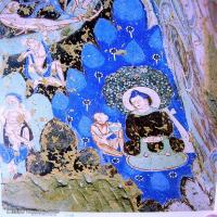 中国新疆佛画壁画全集克孜尔新疆龟兹佛画壁画全集(2)