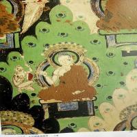中国新疆佛画壁画全集克孜尔新疆龟兹佛画壁画全集(8)