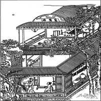 (水浒传线稿)美术家创作资源-古代小说版画(4)