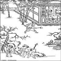 (水浒传线稿)美术家创作资源-古代小说版画(3)