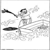 (中国宗教人物)创作素材古代版画(4)