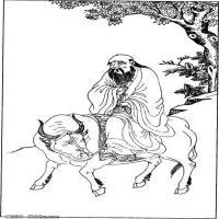 (中国宗教人物)创作素材古代版画(2)
