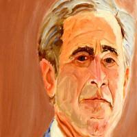 乔治·沃克·布什George Walker Bush总统油画作品
