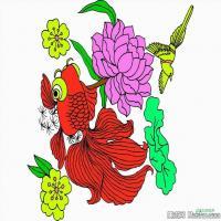 中国吉祥画艺术家创作图案(2)