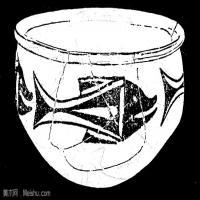 原始社会-器具图案-器皿图片线描稿件资料库(2)
