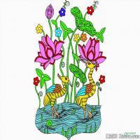 中国吉祥画艺术家创作图案(3)