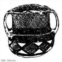 原始社会纹理-器具图案-器皿图片线描稿件资料库(15)