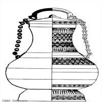 秦汉拓片线稿图案库中国古代历史档案创作资料库(1)