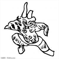秦汉拓片线稿图案库-中国古代历史档案创作资料库(3)