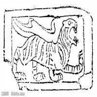 秦汉拓片线稿图案库-中国古代历史档案创作资料库(2)