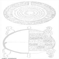 春秋圖案-物件紋理-中國古代歷史檔案拓片庫(5)