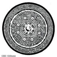秦汉拓片线稿图案库中国古代历史档案创作资料库(6)