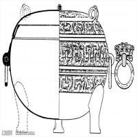 春秋圖案-物件紋理-中國古代歷史檔案拓片庫(1)