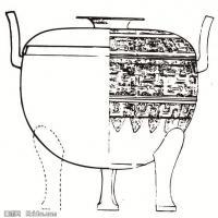 春秋圖案-物件紋理中國古代歷史檔案拓片庫(5)