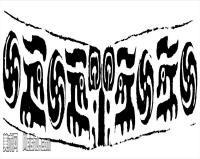 原始社会纹理-器具图案-器皿图片线描稿件资料库(12)