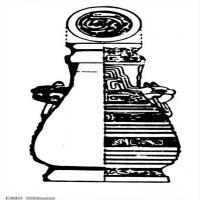 春秋圖案-拓片紋理-創作資料庫中國古代歷史檔案線描庫(3)