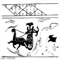 秦汉拓片线稿图案库中国古代历史档案创作资料库(2)