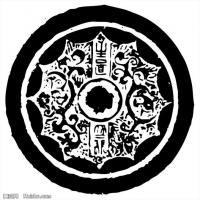 秦汉拓片线稿图案库中国古代历史档案创作资料库(4)