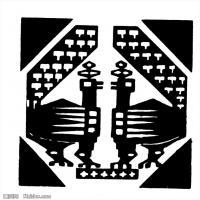 隋唐时期线描美术图案-拓片资料库美术创作档案库(2)