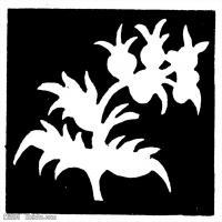 隋唐时期线描美术图案-拓片资料库美术创作档案库(3)