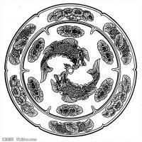 隋唐时期美术图案-拓片资料库美术创作档案库(3)