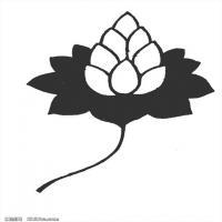 隋唐时期线描美术图案-拓片资料库美术创作档案库(4)