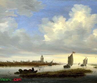 所罗门.范.雷斯达尔Salomon van Ru