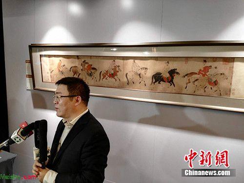 """""""五王醉归图卷""""超3亿成交 创2016中国艺术品最高价"""