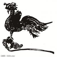 元代明代时期拓片线描图案资料库中国古代美术图库(5)