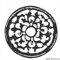 清代时期花纹图案拓片资料库中国古代美术图库(4)