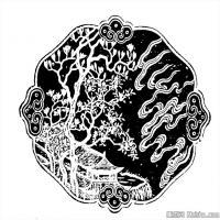 清代时期花纹图案拓片资料库中国古代美术图库(3)