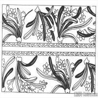 元代时期花纹图案拓片资料库中国古代美术图库(2)