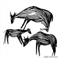 动物线描拓片库-艺术家创作库中国美术图案库(2)