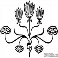 中国古典纹饰创作图片库中国美术图案库(7)