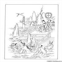 创作线描画稿-吉祥图案中国美术图案库(3)