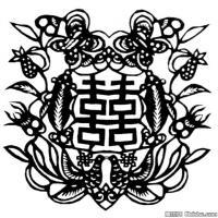古代飞禽鸟类线描拓片库艺术家创作库中国美术图案库(3)
