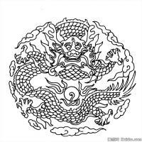 创作线描画稿-吉祥图案中国美术图案库(5)
