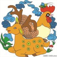 吉祥动物图案创作参考资料资料库-美术网