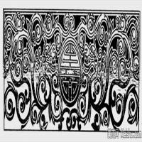 現代圖案線描拓片稿-創作參考資料庫-美術網(4)