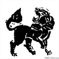 古代灵兽图案线描拓片大全集-创作参考资料库-美术网