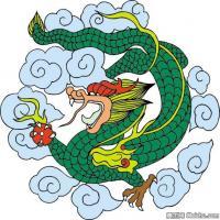 中國龍形圖案大全集-創作參考資料庫-美術網
