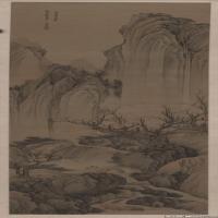 清代画家樊圻绘画作品集