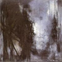 朱德群近现代抽象油画作品(3)